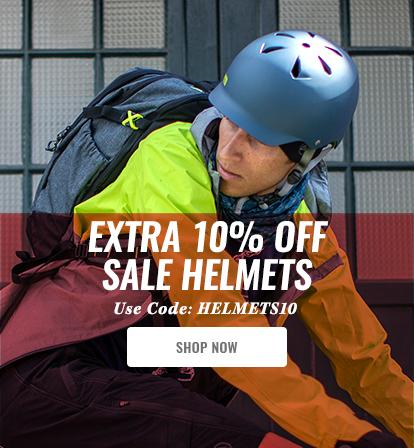 Extra 10% off Sale Helmets