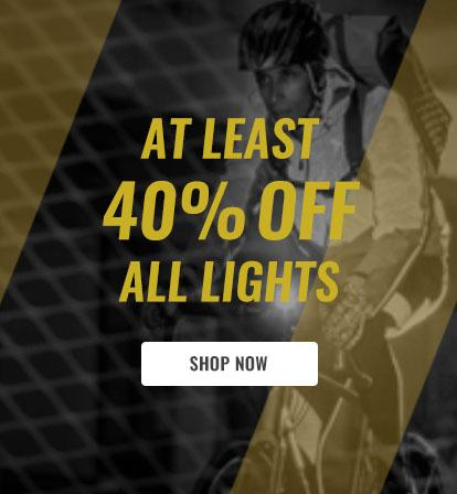 At Least 40% Off All Lights